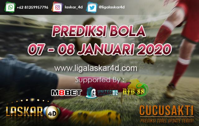 PREDIKSI BOLA JITU TANGGAL 07 – 08 JANUARI 2020