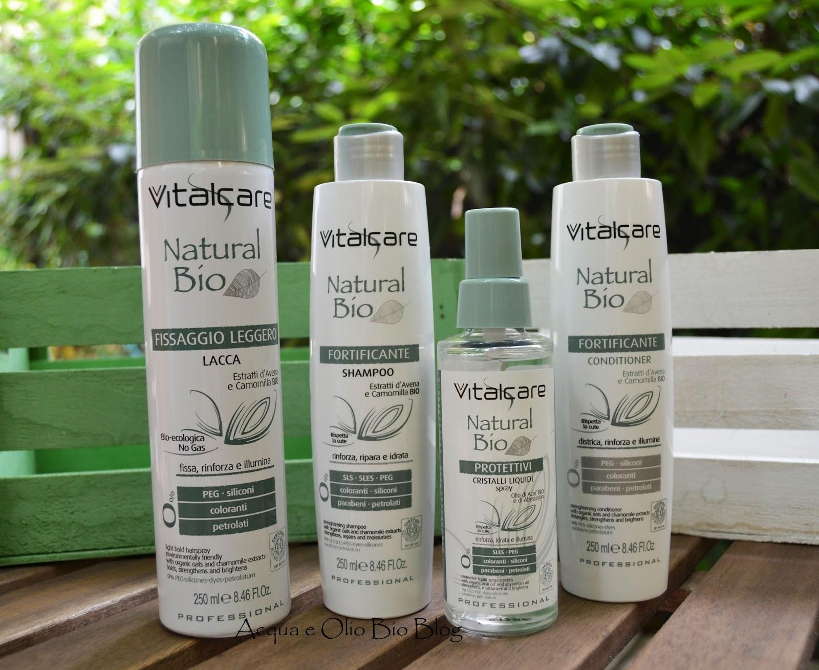 Linea Vitalcare Natural Bio: Promossi e Bocciati – Acqua e Olio Bio Blog