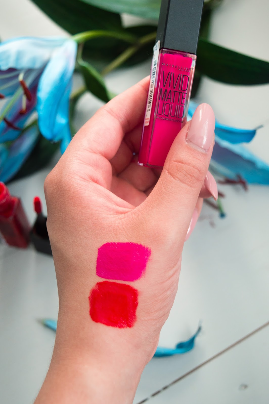 maybelline vivid matte liquid review