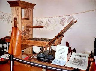 Mesin Cetak Temuan Gutenberg