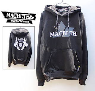Jaket Fleece Hoodie Macbeth MAC004