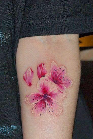 Tattoo Flor De Almendro