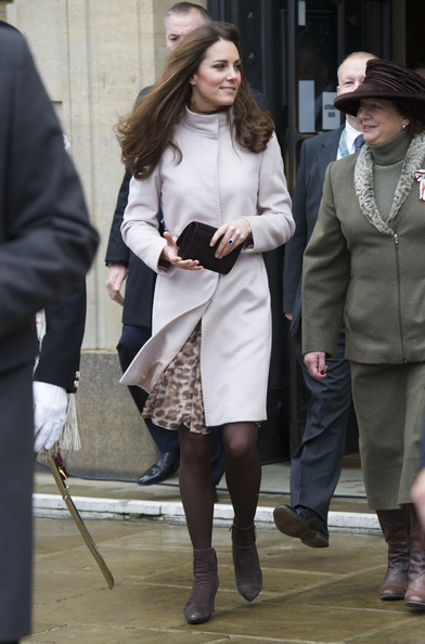 Prince William and Kate Middleton received a gift during an official visit to the Guildhall in Cambridge