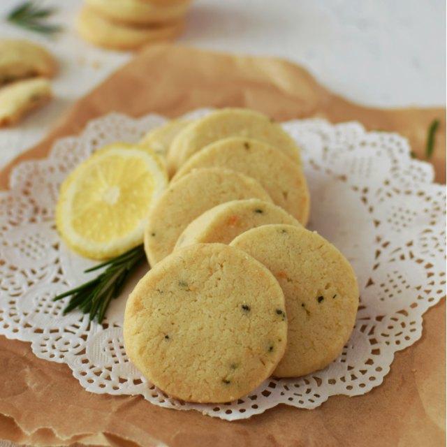 Galletas de romero y limón