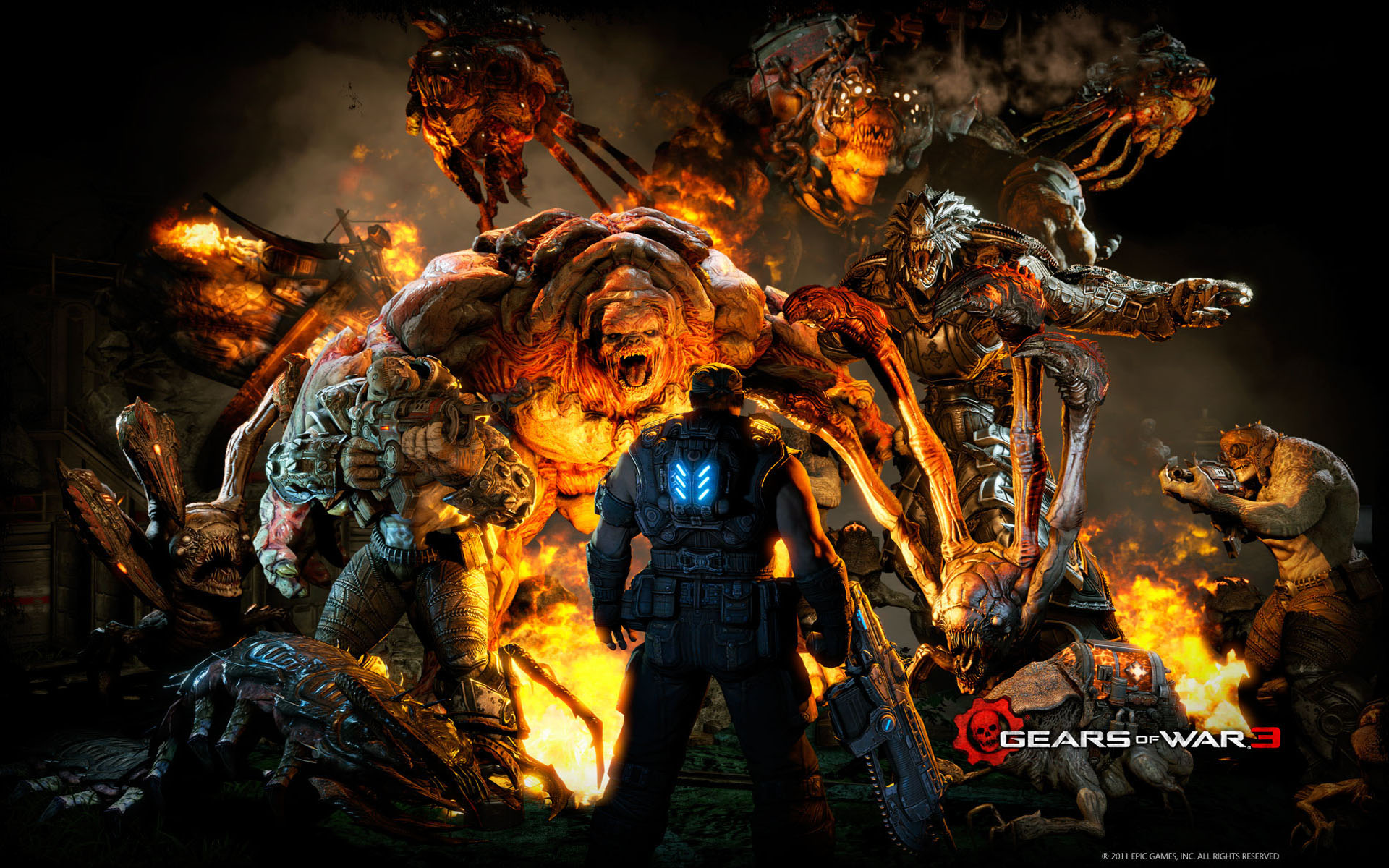 High Resolution Wallpapers Pictures: Gears Of War 3