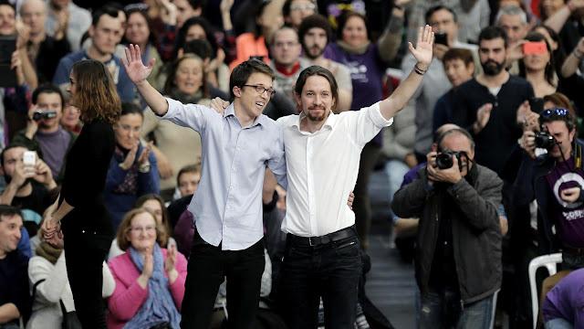 Crisis interna  y dimisiones en Podemos