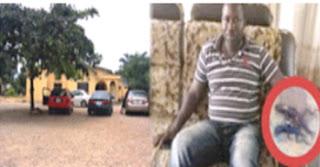 man vomits two lizards in nigeria