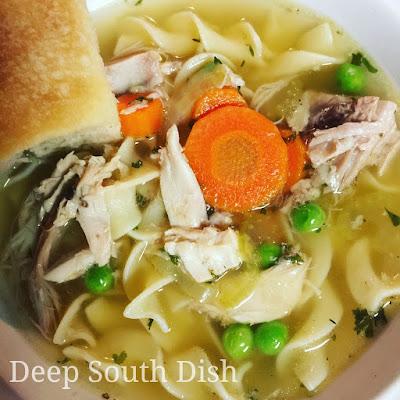 Deep South Dish Turkey Carcass Soup