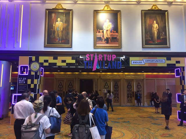 Report of #StartupThailand 2018