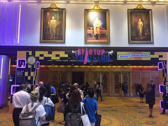 Report of #StartupThailand 2018