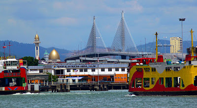 Penang ferry on the Butterworth side
