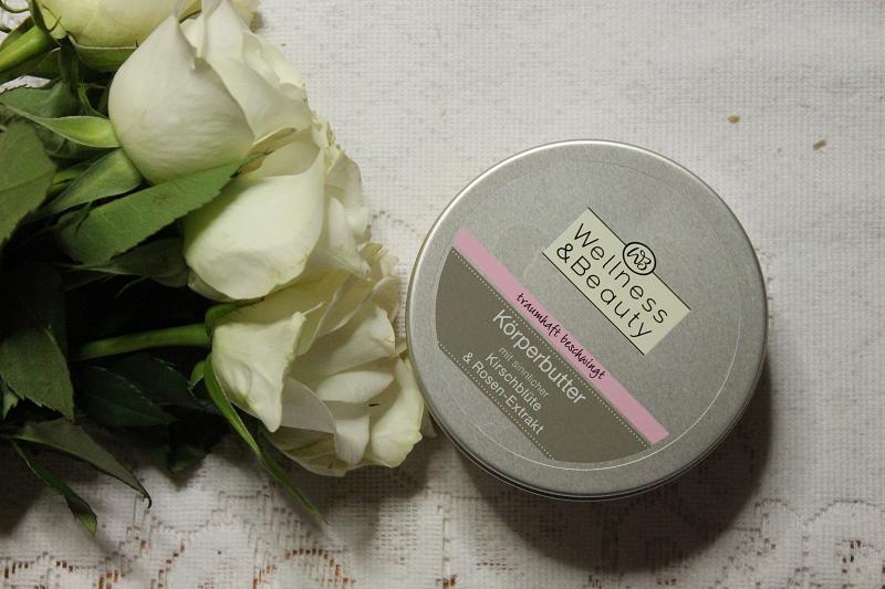 wellness & beauty masło do ciała z ekstraktem z kwiatu wiśni i róży