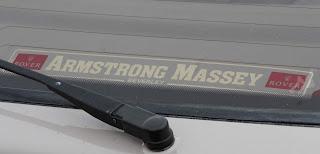 Armstrong Massey rear window sticker
