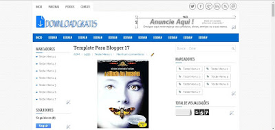 Template Download Gratis 3 colunas