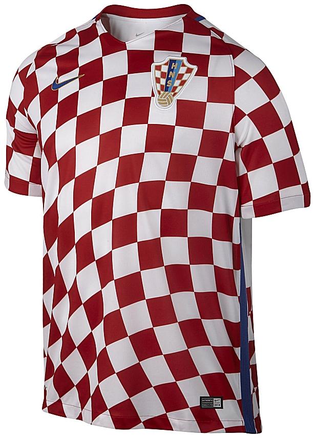 f96ac69ee1 Nike divulga as novas camisas da Croácia - Show de Camisas