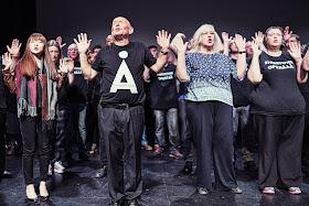 Streetwise Opera Manchester. Photo: Greg Kiefer.