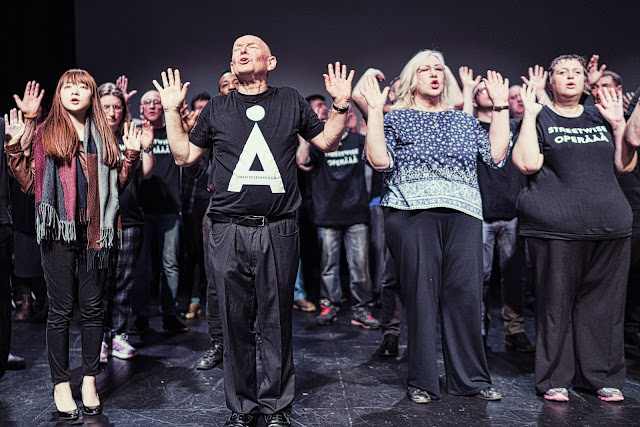 Streetwise Opera Manchester. Photo: Greg Kiefer.