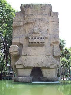 BLOG LUGARES DE MEMÓRIA - matéria sobre Teotihuacán - Foto Museu Nacional de Antropologia Divulgação