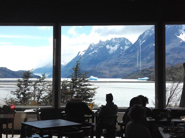 Vistas cafetería Hotel Grey
