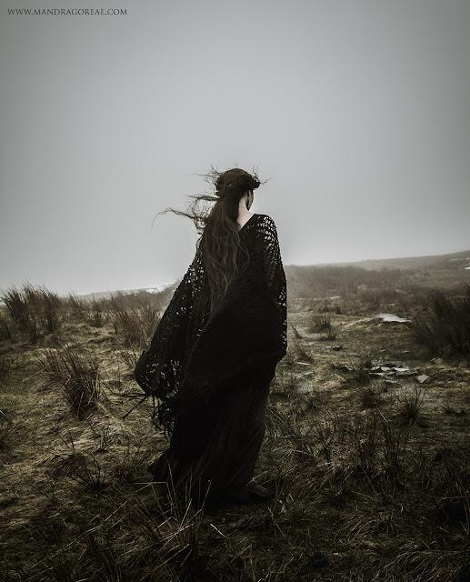 Meg Merrilies John Keats poem Tribute, Misty Moor Mandragoreae by Victoria Francés