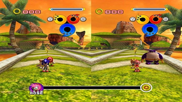 Download Sonic Heroes PC Games Gameplay