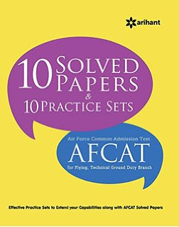 Download Free AFCAT Solved Question Papers Book PDF
