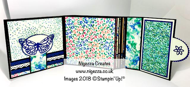 Stampin' Up!® Garden Impressions Mini Album Nigezza Creates