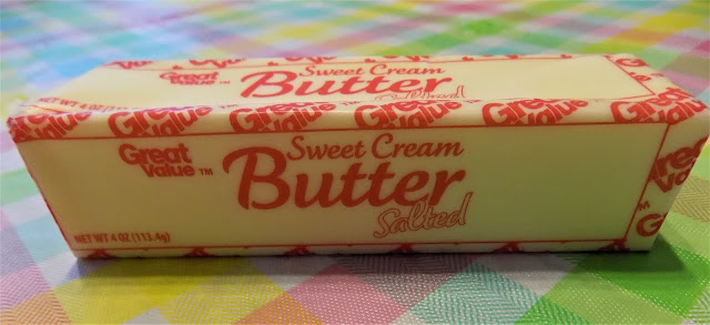 This is a picture of a stick of butter