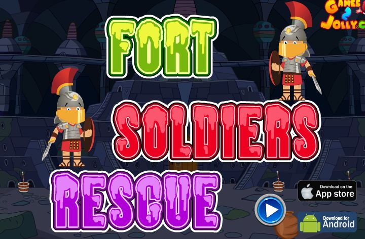 Fort Soldiers Rescue Walkthrough