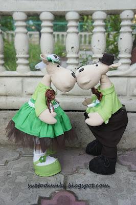 свадебные куклы, свадьба