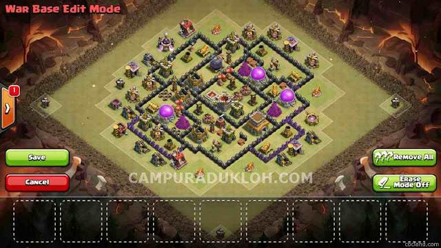 TOWN HALL 8 Base War