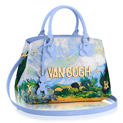 Tinuku Jeff Koons and Louis Vuitton actualize Da Vinci, Van Gogh, Fragonard, Titian and Rubens