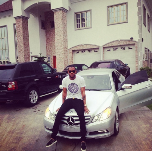 9ja radar 9r photos d 39 prince acquires brand new 2013 for Mercedes benz brand ambassador