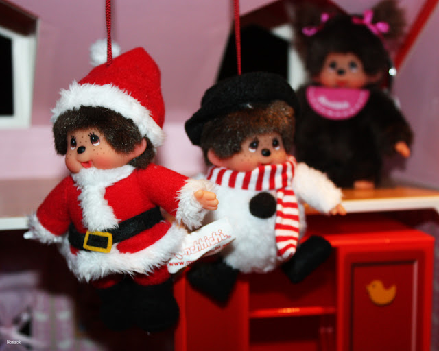 mini kiki Père Noël