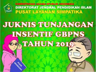 Juknis Insentif guru bukan PNS tahun 2019