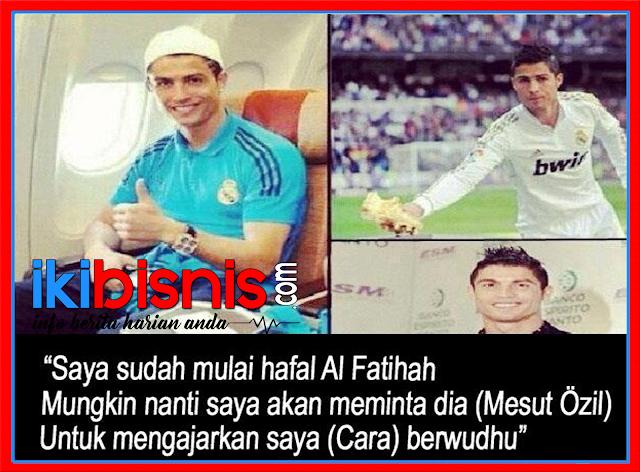 Ternyata Cristiano Ronaldo Sudah Hafal Surat Al Fatihah