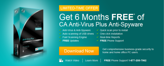 CA AntiVirus Plus