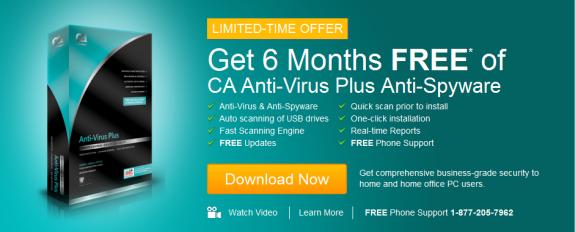 CA AntiVirus Plus