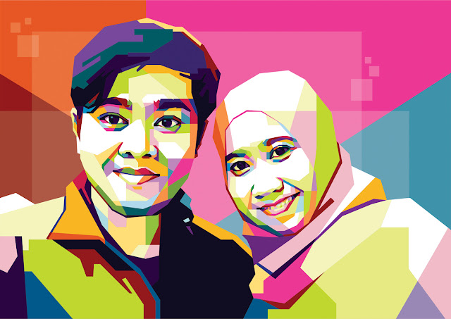 WPAP Couple Fariz & Wife (Versi 1)