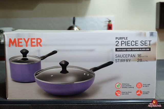 Product Review Meyer Purple 2 Piece Set Cookware Dear