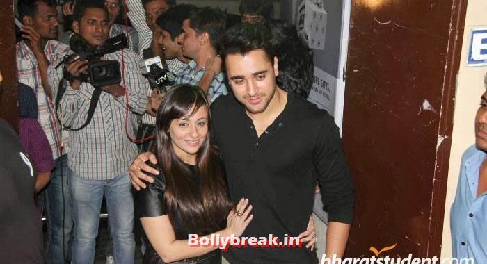 Imran khan with wife avantika at Gori Tere Pyaar Mein Special Screening, Gori Tere Pyaar Mein Special Screening Pics