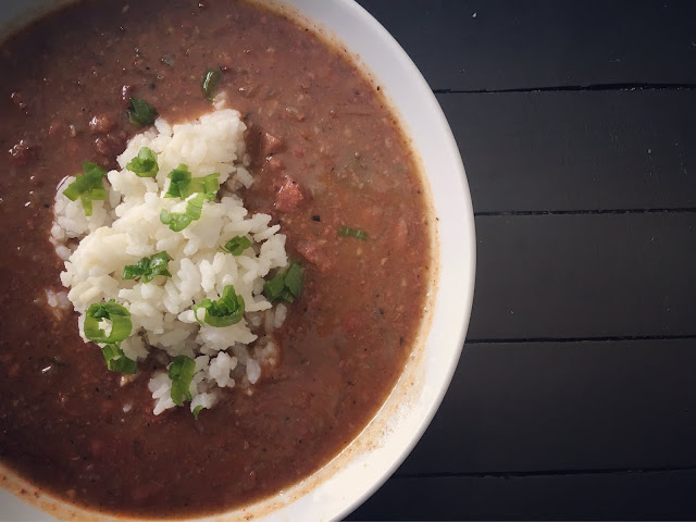 Red Beans & Rice featuring Jay D's Spicy & Sweet BBQ Rub