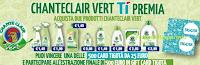 Logo ChanteClair Vert ti premia con 500 Gift Card Tigotà