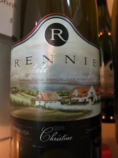 Rennie Estate Christine Chardonnay 2013 - VQA Beamsville Bench, Niagara Peninsula, Ontario, Canada (91 pts)