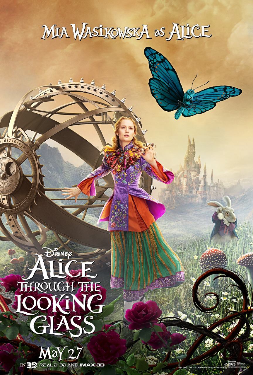 Nonton Film Alice Through the Looking Glass (2016)