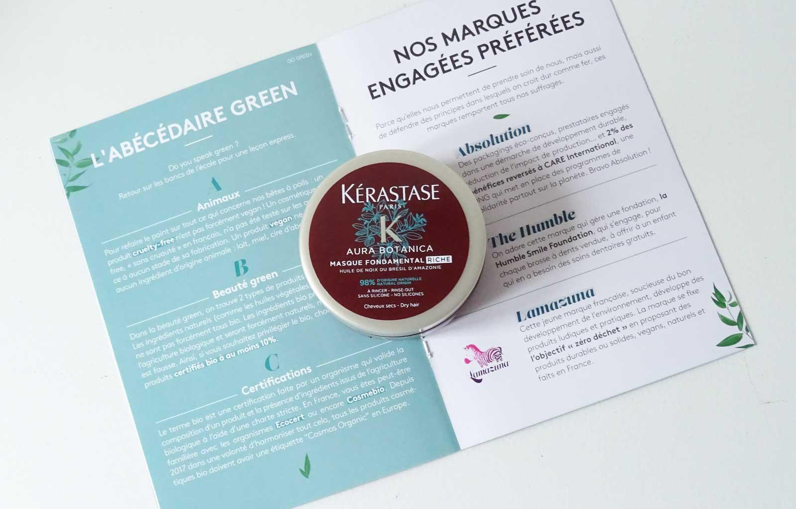 Kérastase, Masque Fondamental Riche Aura Botanica