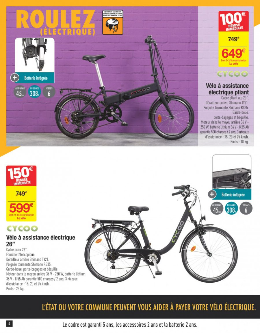 Catalogue carrefour 25 avril au 08 mai 2017 catalogue promo - Prix velo electrique carrefour ...