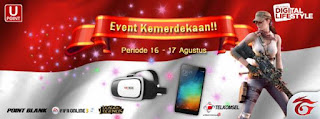 Point Blank Garena Indonesia Event Kemerdekaan dan UPoint Agustus 2016
