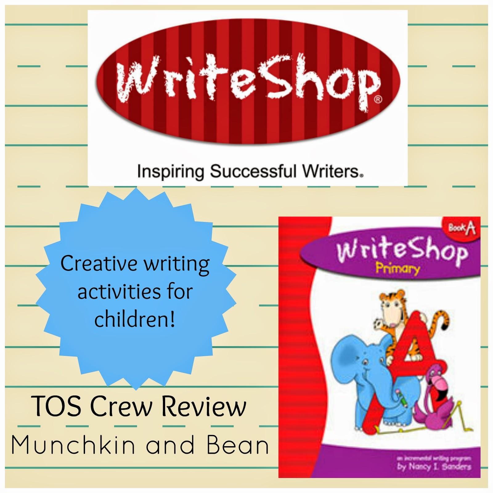 Munchkin And Bean Writeshop Review