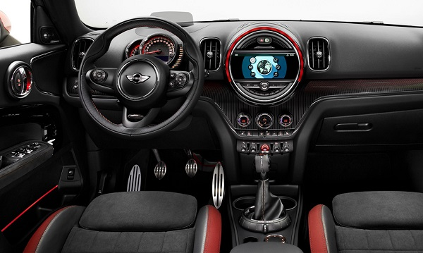 Interior Mini John Cooper Works Countryman